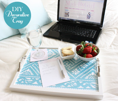 MadeByGirl DIY Tray Project