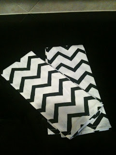 Chevron Abound…and Another DIY Project (Thanks to Design*Sponge)