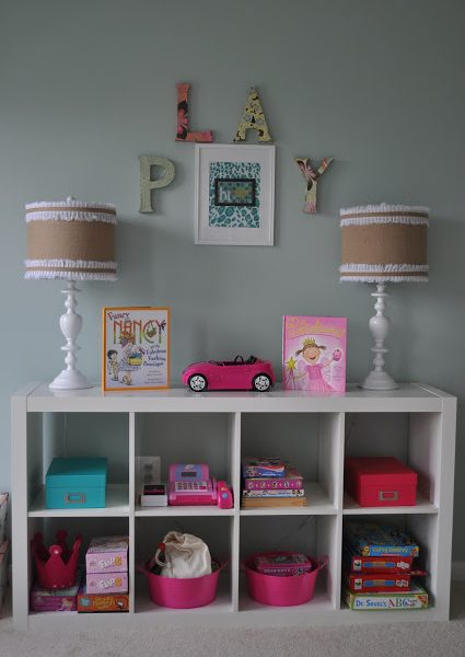 PROJECT COMPLETE: Turquoise Playroom–For My Little Ladies