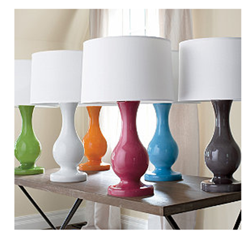 Modern Colorful Lamps.. Best Bang For Your Buck