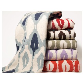 In2Green Eco Blankets–Ikat, Morocco, and More