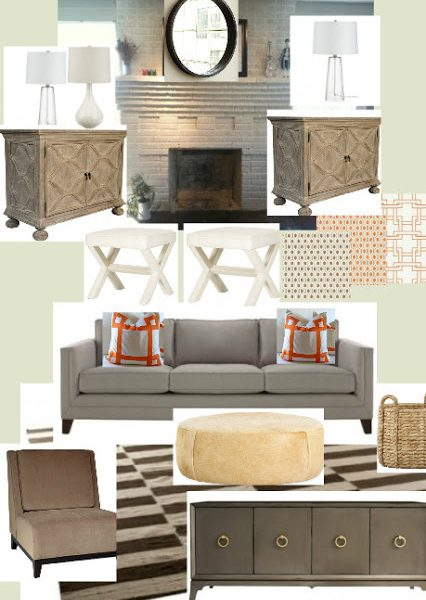 Family Room Project–Mood Board