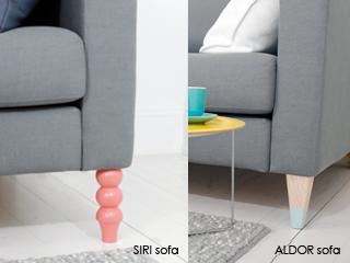New Twist on Furniture Legs