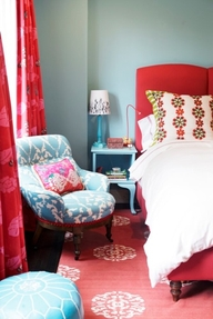 Red Rooms (Prettier Than I Thought!)