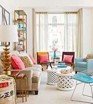 All About Spring:  Pretty Interiors