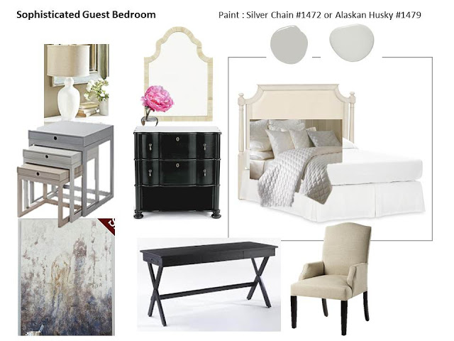 Sneak Peek: Sophisticated Gray Bedroom Design Board