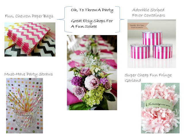 Affordable Etsy Decorating Shops & Ideas for Your Next Party