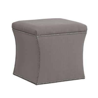 Skyline Furniture Elgin Nail Button Storage Ottoman