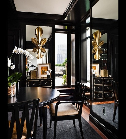 Gorgeous Black Rooms