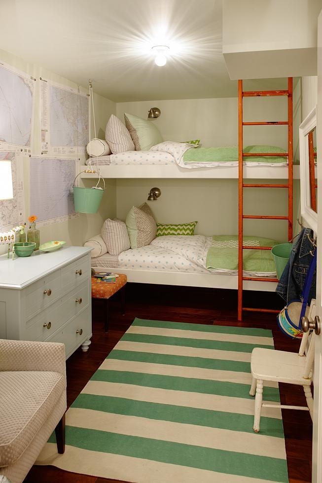 Kids Bedroom (Bunk) | Sarah Richardson Design