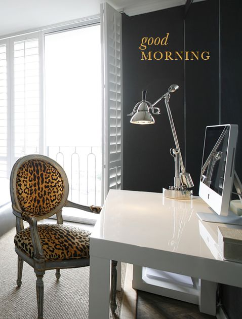 leopard print chair - perfect accent accessory for any room