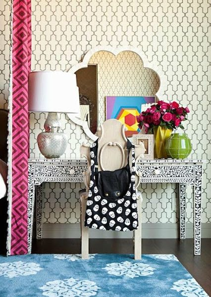 Pattern Play: Gorgeous Rooms