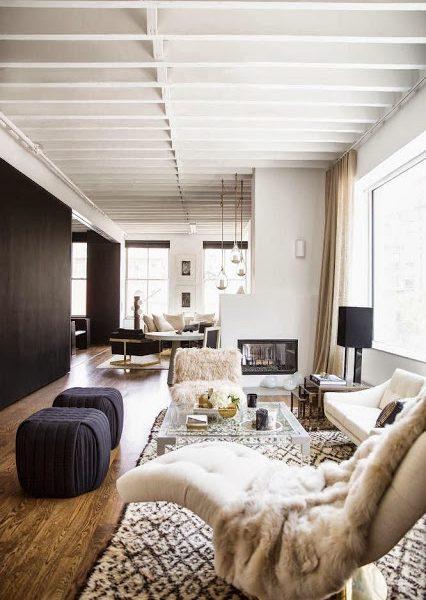 Domino Magazine is Back!  Cozy Room to Inspire