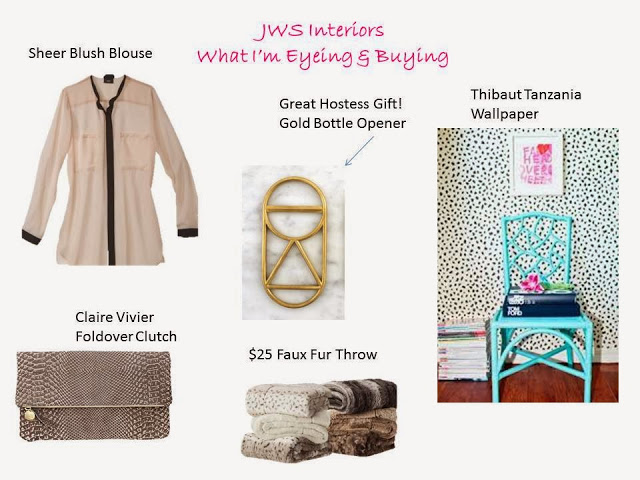 What I'm Eyeing & Buying- Fashion & Home