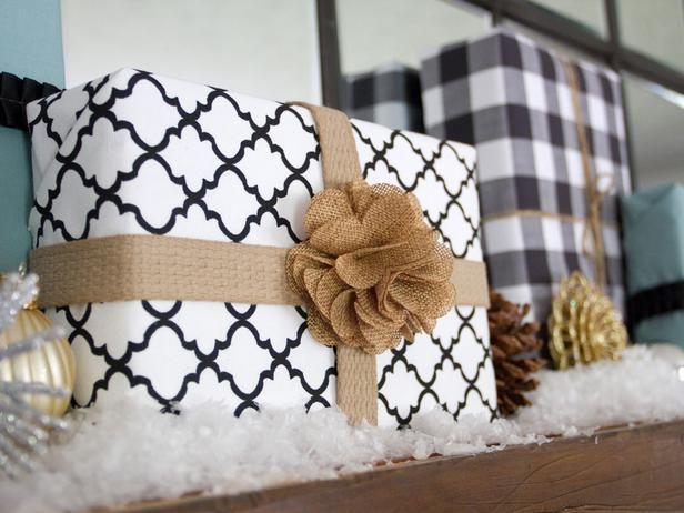 24 Creative Gift Wrap Ideas : Decorating : HGTV