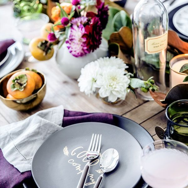 7 Gorgeous Holiday Table Settings