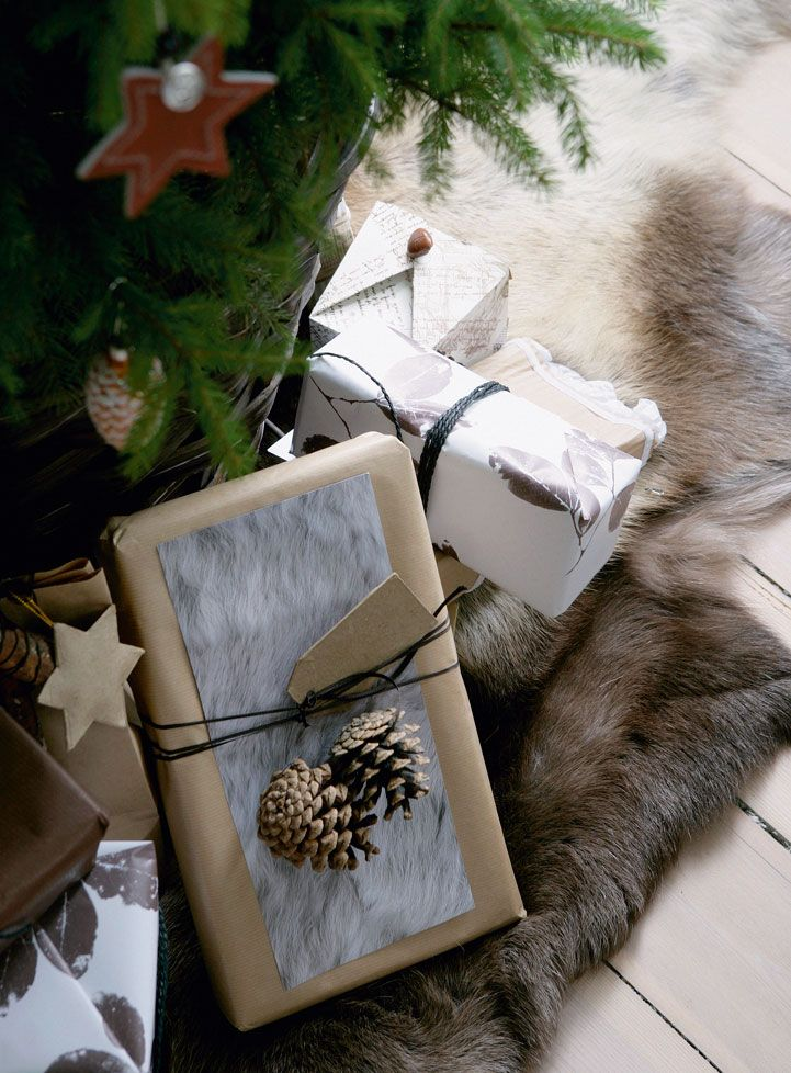 Pine Cone Gift Decoration
