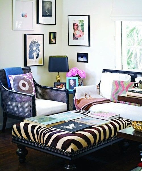 Using Vintage in Your Decor–Cane Chairs Redone
