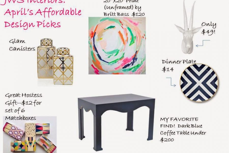 Girl on A Budget: JWS Interiors Affordable Design Picks (A New Series)