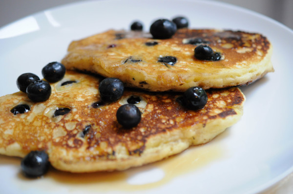 A New Food Blog to Love and the BEST Blueberry Pancakes