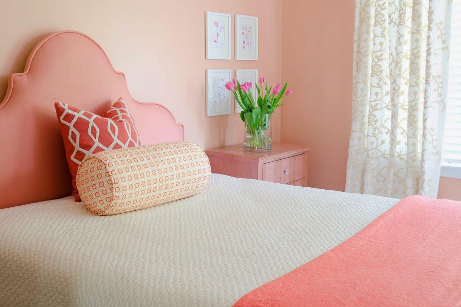 Portfolio Flashback: Pretty in Pinks Bedrooms