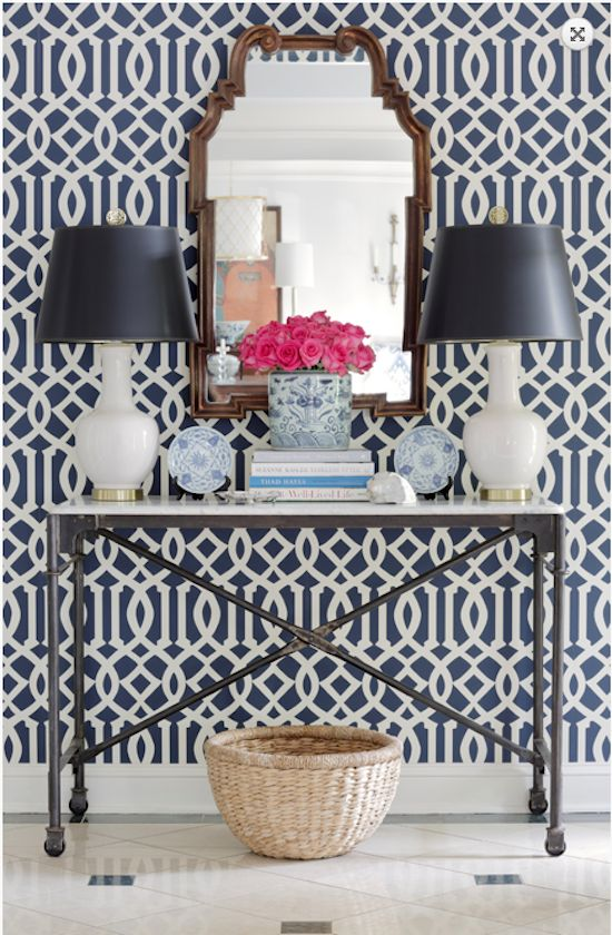 The Zhush: Style Stalking: Jessica Walmsley Interiors #Pattern #Decor