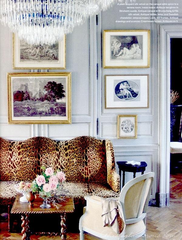 Eine Leo-Couch im Wohnzimmer kann ganz schön stylish aussehen! #inspiration #livingroom #home