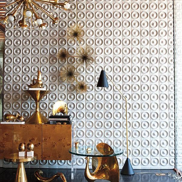 Gorgeous Modern Spaces–Tiling An Entire Wall