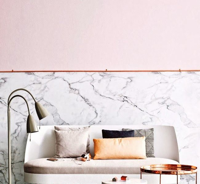 Blush Hued Decor