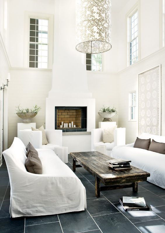 Alys Beach, Florida home, with design by Atlanta interior designer Kay Douglass. From Atlanta Home Magazine, seen on Coco Cozy blog (via Melaine Bennett Thompson)