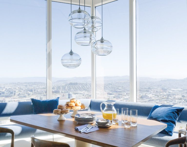A Gorgeous San Francisco City Home Perched on the 60th Floor