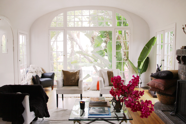Inside Fashion Designer Heidi Merrick's LA Home