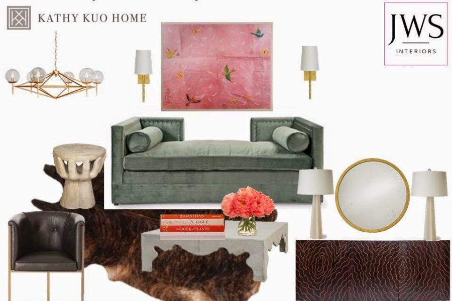 Get the Look: A Glamorous City Apartment:  With Kathy Kuo Home