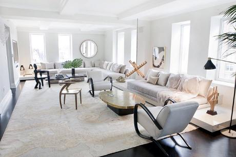 A Celebrity's Glam Manhattan Home