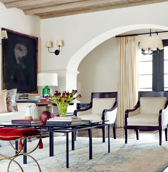 An Actress' Gorgeous Spanish Style Home