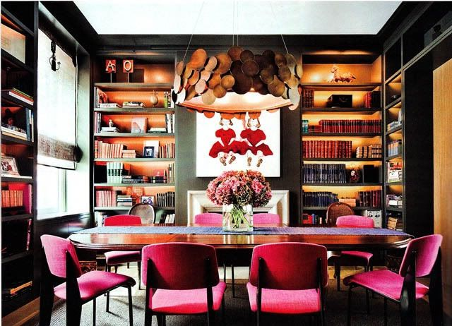 Marcus Design: {library dining rooms ...}