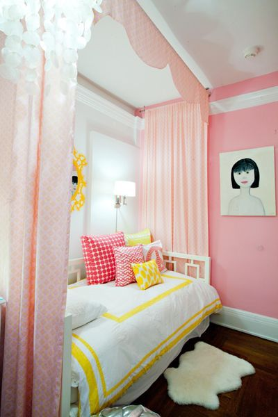 fun, colorful room for preteen