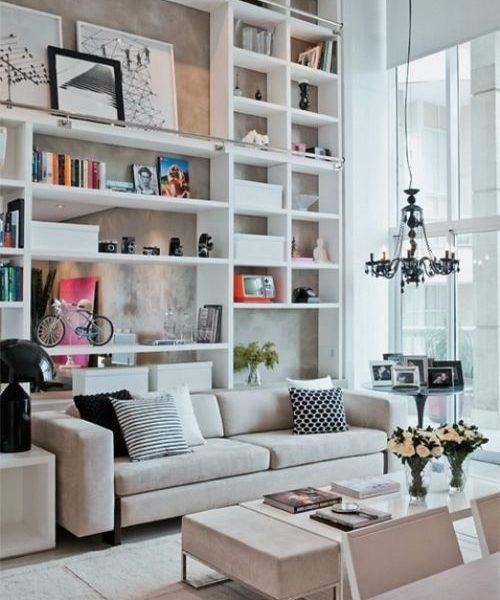 Gorgeous Modern Built-Ins