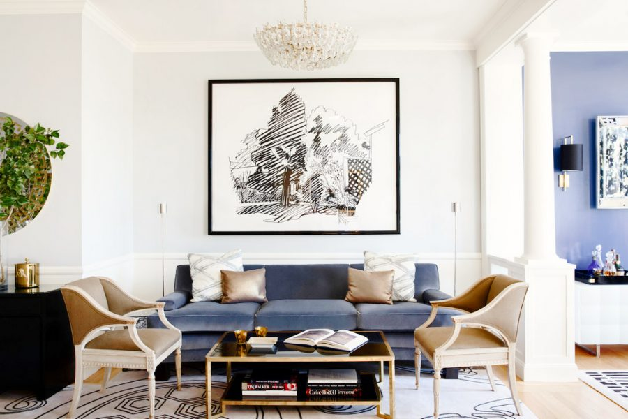 The All American Modern Family Room