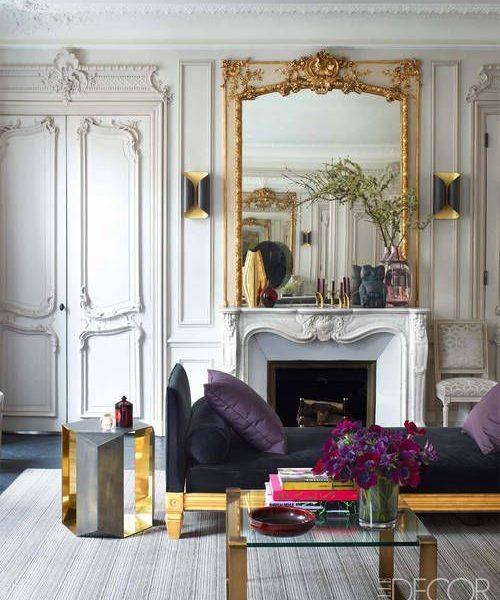 Glamorous Paris Apartment Featured in Elle Decor