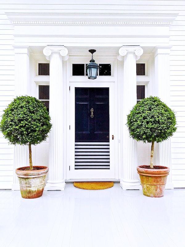 Aerin Lauder's front door