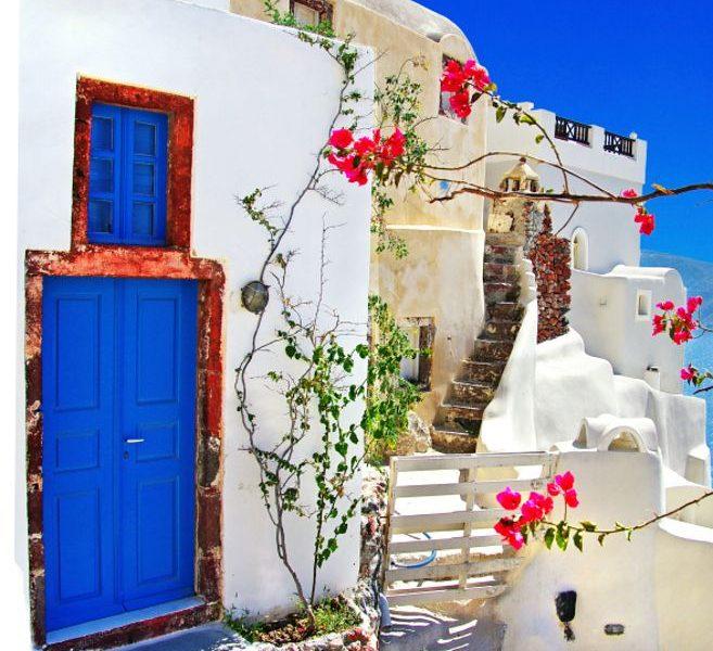 On My Bucket List-Santorini