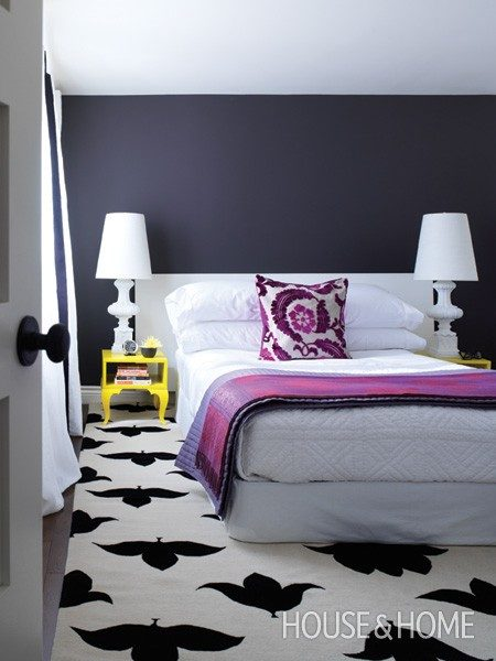 Get the Look: Modern Graphic Bedroom