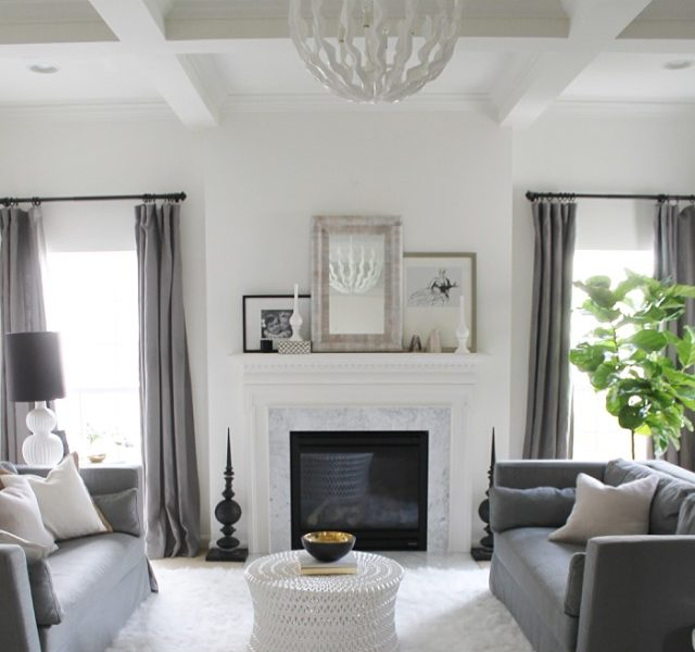 My Family Room: Proof a Pretty Room Can Be Done On A Budget