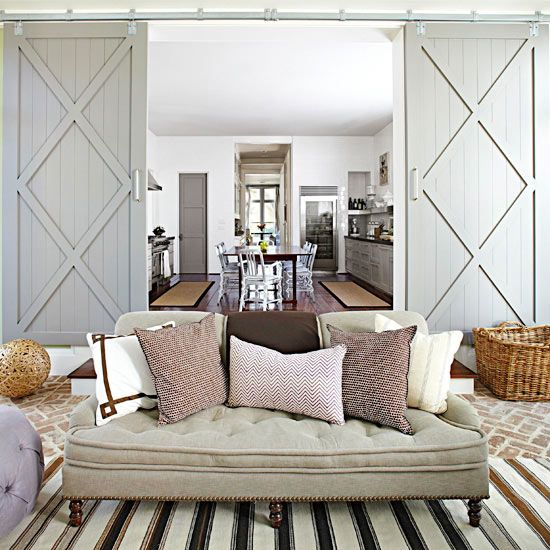 5 Rooms You'll Love That Use Sliding Barn Doors