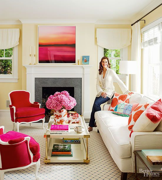 Check out Brooke Shield's Hamptons hideaway on domino.com
