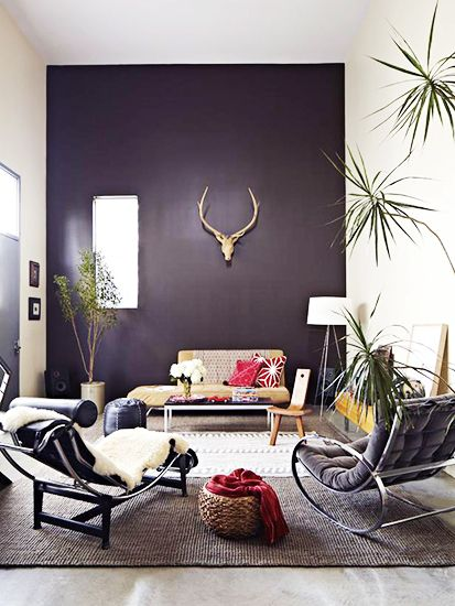The Accent Wall // Why It Works: The Accent Wall // Why It Works