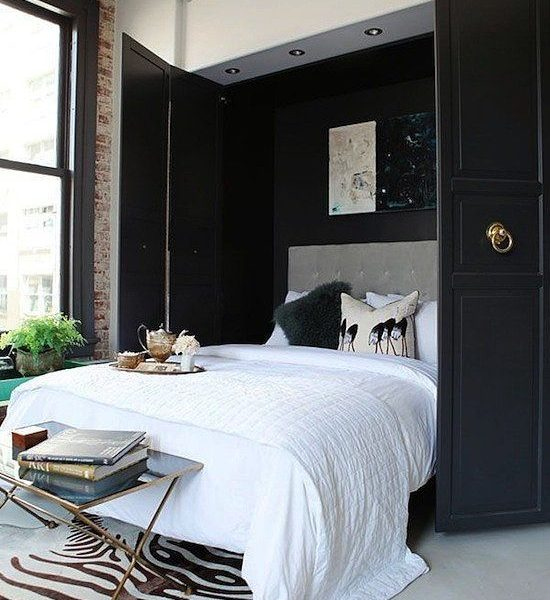 Black and White (Bedroom) Done Right