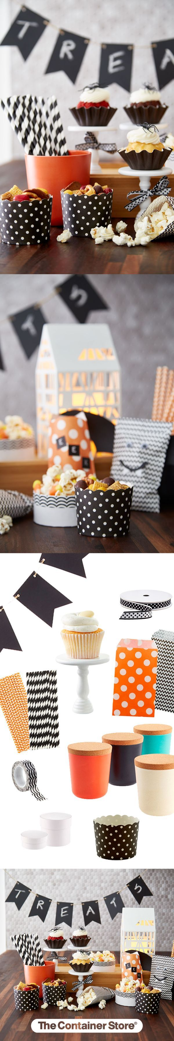 Straws, bags, tape - oh my! Create the cute this year with necessities from The Container Store!: