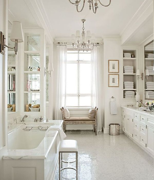 9 white hot rooms, today on our blog! https://www.onekingslane.com/live-love-home/white-rooms-on-pinterest/: